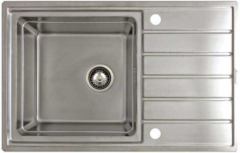 Кухонная мойка Seaman Eco Roma SMR-7850AK.B+SSA-007