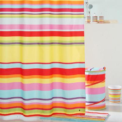 Штора для ванной комнаты IDDIS Summer Stripes 290P24RI11 штора для ванной комнаты из полиэстера iddis summer stripes 290p24ri11