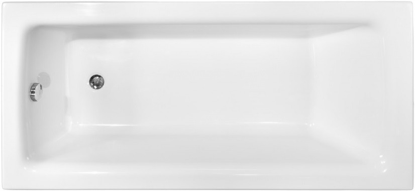 Акриловая ванна 140х70 см Besco Talia WAT-140-PK акриловая ванна besco rima 150x95 l