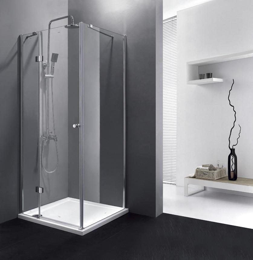 Душевой уголок Cezares Verona 90x90 см прозрачное стекло VERONA-W-A-1-90-C-Cr все цены