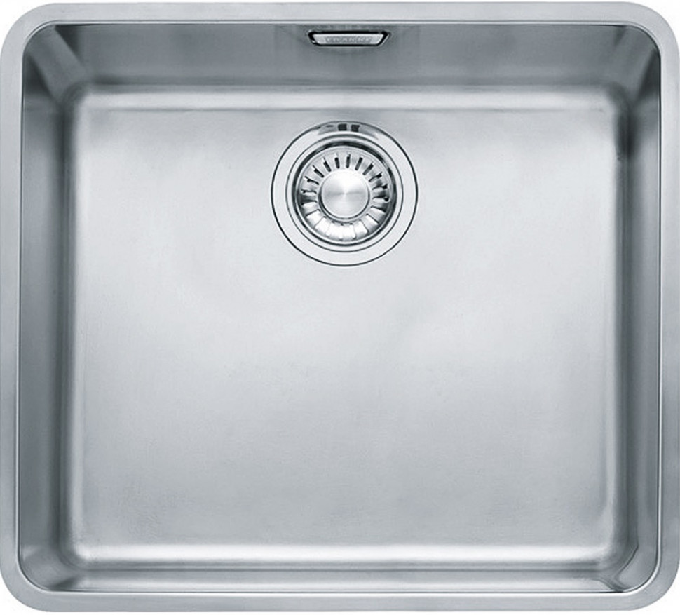 Кухонная мойка Franke Kubus KBX 110-45 полированная сталь 122.0036.608 franke kbx 110 34 нерж сталь зеркальная