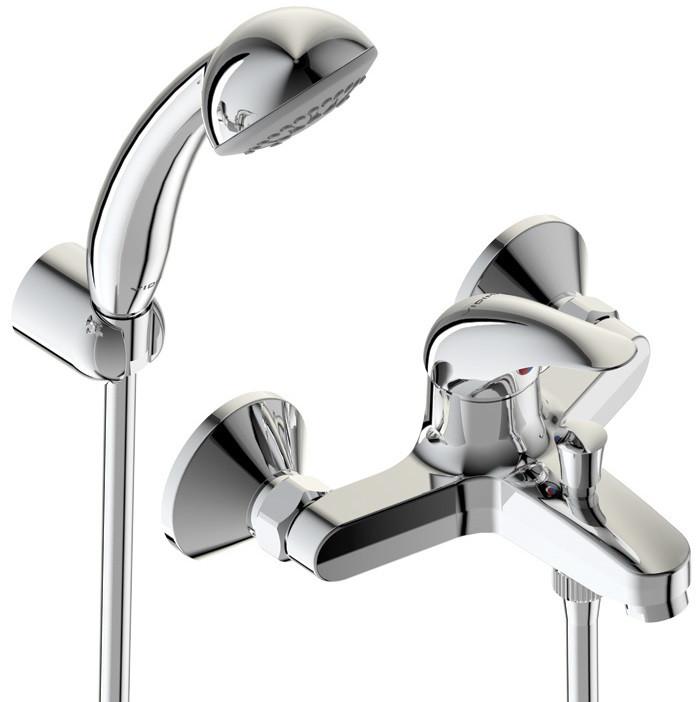 Смеситель для ванны с душем Vidima Орион BA004AA смеситель для душа vidima орион ba003aa