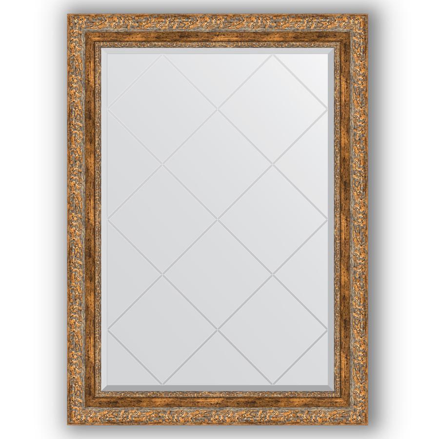 Фото - Зеркало 75х102 см виньетка античная бронза Evoform Exclusive-G BY 4187 зеркало 75х130 см виньетка античная бронза evoform exclusive g by 4230