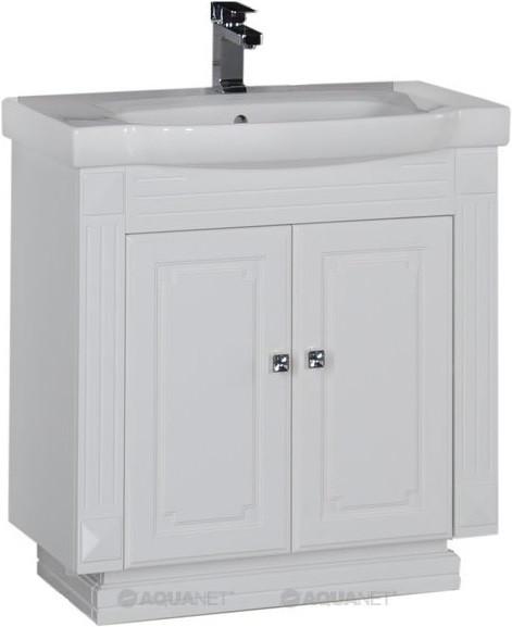 Тумба белый 76 см Aquanet Фредерика 00170095 зеркало aquanet фредерика 171273