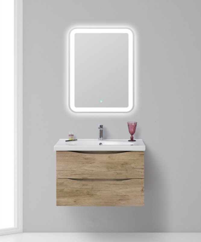 Rovere NatureТумба Rovere Nature 70,9 см BelBagno Fly FLY-700-2C-SO-RN-P тумба под раковину belbagno fly 60 rovere grigio fly 600 2c so rg p