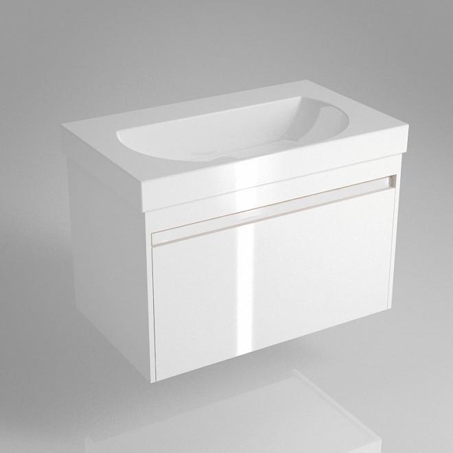 Тумба белый глянец 77,5 см Kerama Marazzi Buongiorno BGN.80.1\WHT.UK