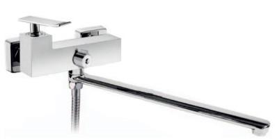 Смеситель для ванны BelBagno Ticino TIC-VDLM-CRM смеситель для ванны belbagno ticino tic vasm crm
