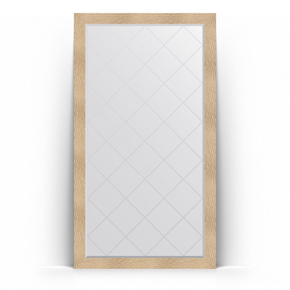 Фото - Зеркало напольное 111х201 см золотые дюны Evoform Exclusive-G Floor BY 6384 зеркало напольное 111х201 см чеканка золотая evoform definite floor by 6020
