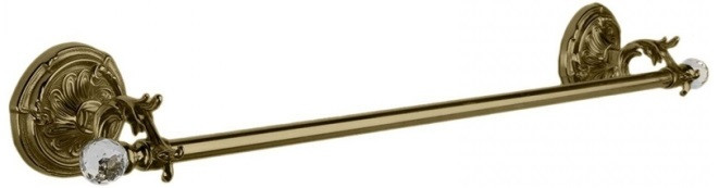 Полотенцедержатель 36 см бронза Art&Max Barocco Crystal AM-1781-Br-C