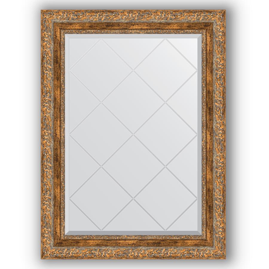 Фото - Зеркало 65х87 см виньетка античная бронза Evoform Exclusive-G BY 4101 зеркало 75х130 см виньетка античная бронза evoform exclusive g by 4230
