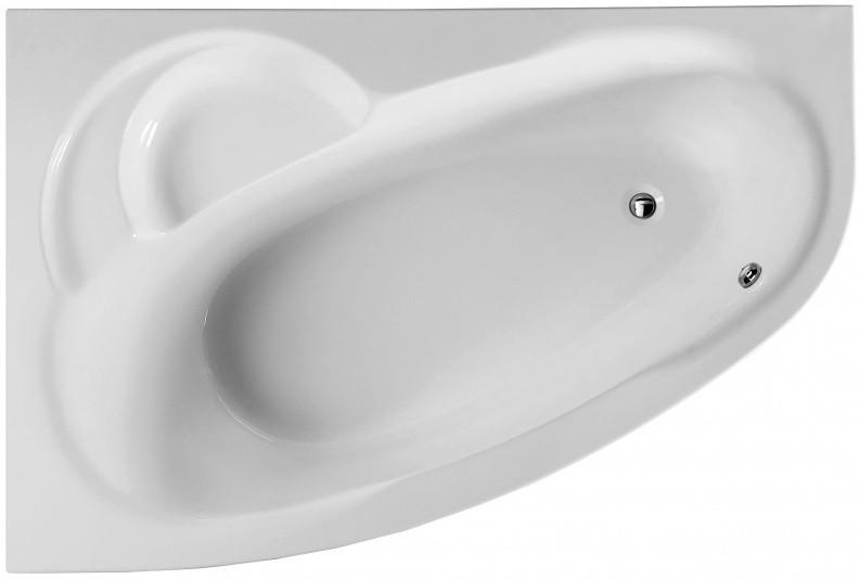 Акриловая ванна 160х105,5 см L Am.Pm Bliss L W53A-160L105W-A каркас для ванны 160х105 5 см l am pm bliss l w53a 160l105w r