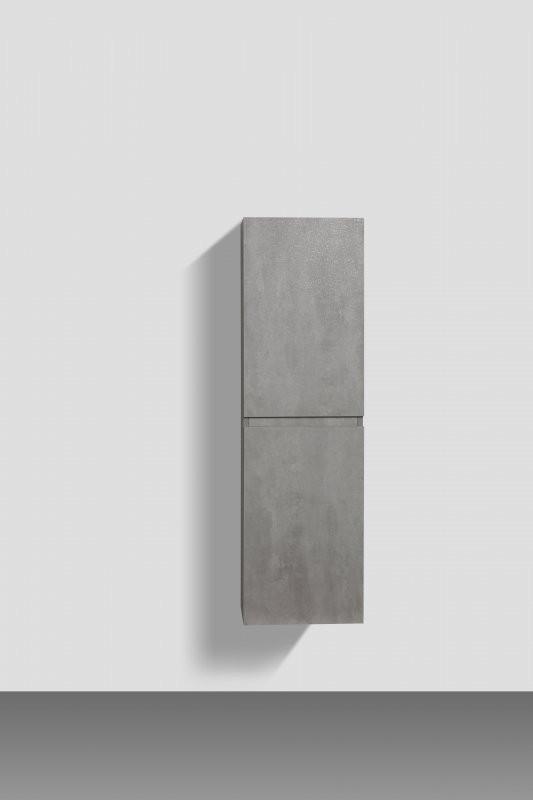 Пенал подвесной Stucco Cemento BelBagno Luce LUCE-1350-2A-SC-SCM