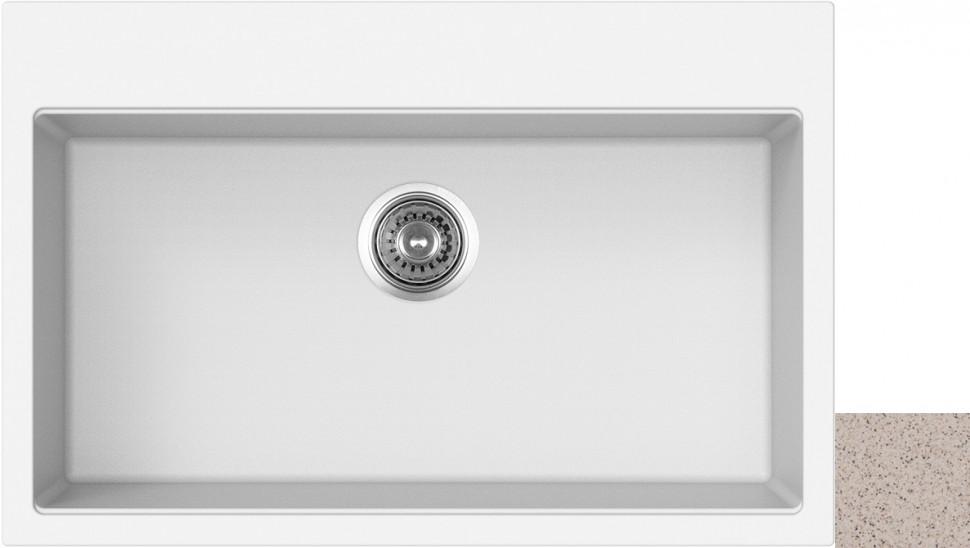 Кухонная мойка терра Longran Geos GES780.500 - 38 кухонная мойка drgans габи терра