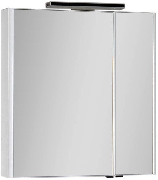Зеркальный шкаф 80х85 см белый Aquanet Орлеан 00183077 зеркальный шкаф 55х88 1 см белый aquanet стайл 00181511