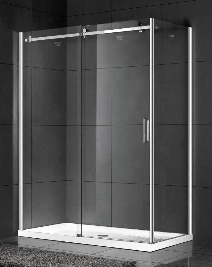 Душевой уголок 150х80 см Gemy Modern Gent S25151L прозрачное