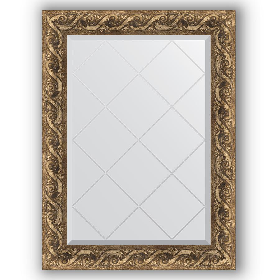 Зеркало 66х88 см фреска Evoform Exclusive-G BY 4098 зеркало evoform exclusive g 185х131 фреска