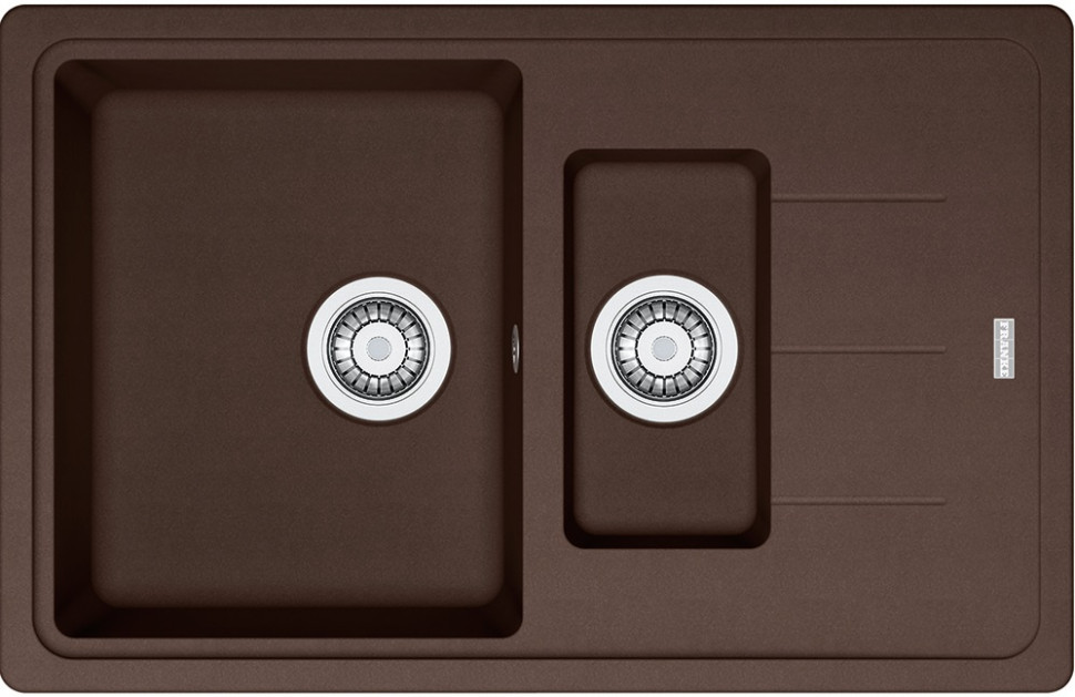 Кухонная мойка Franke Basis BFG 651-78 шоколад 114.0280.883