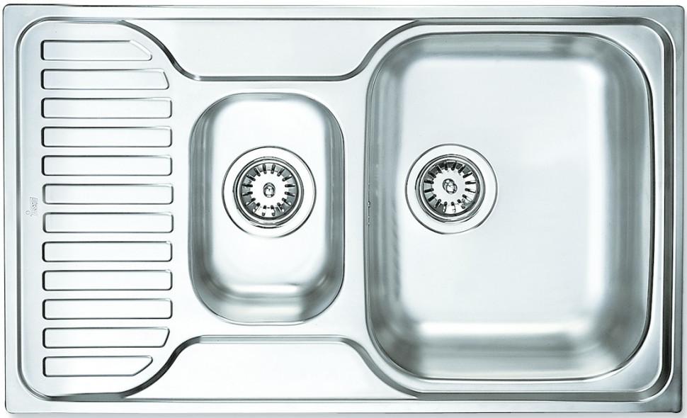 Кухонная мойка Teka Princess 1 1/2B 1/2D полированная сталь PA780P3001