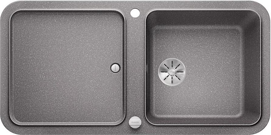 Кухонная мойка Blanco Yova XL 6S InFino алюметаллик 523596