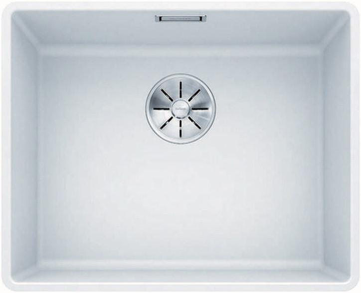 Кухонная мойка Blanco Subline 500-F InFino белый 523535 кухонная мойка blanco subline 320 f белый с отв арм infino 523419