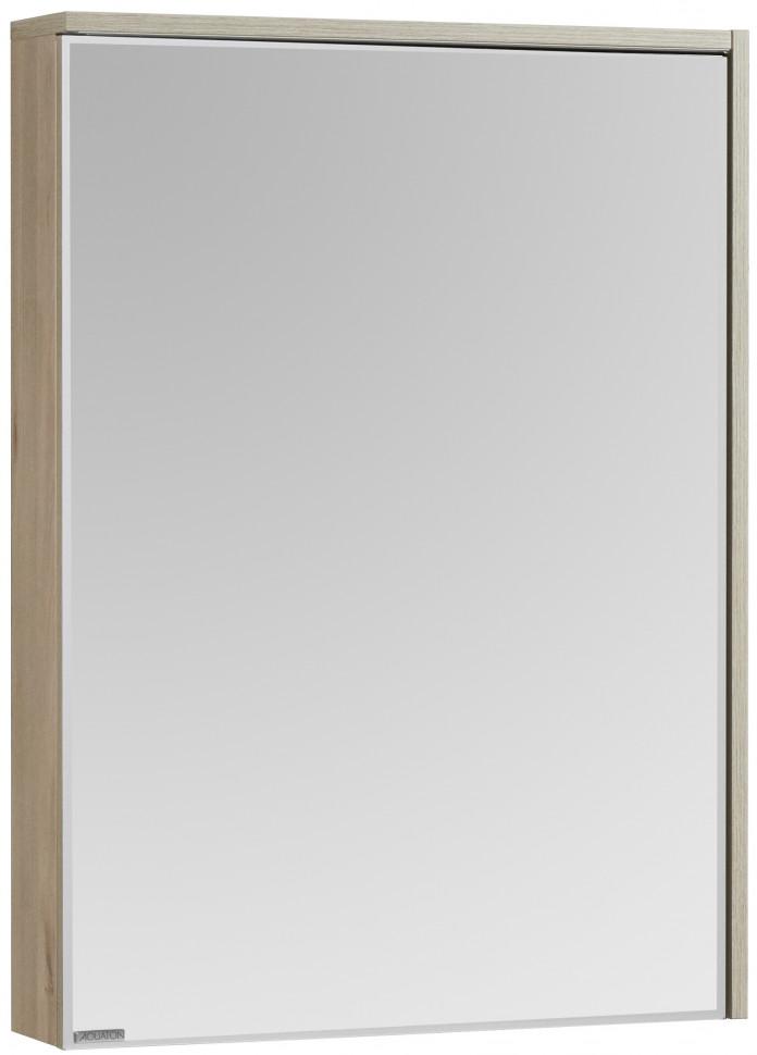 Зеркальный шкаф 60х83,3 см сосна арлингтон R Акватон Стоун 1A231502SX850 зеркальный шкаф акватон стамбул 85 1a128402st590 сосна лоредо