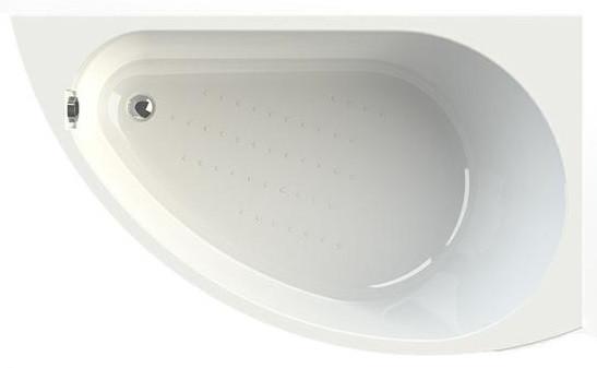 Акриловая ванна правая 168х100 см Vannesa Бергамо 2-01-0-2-1-215