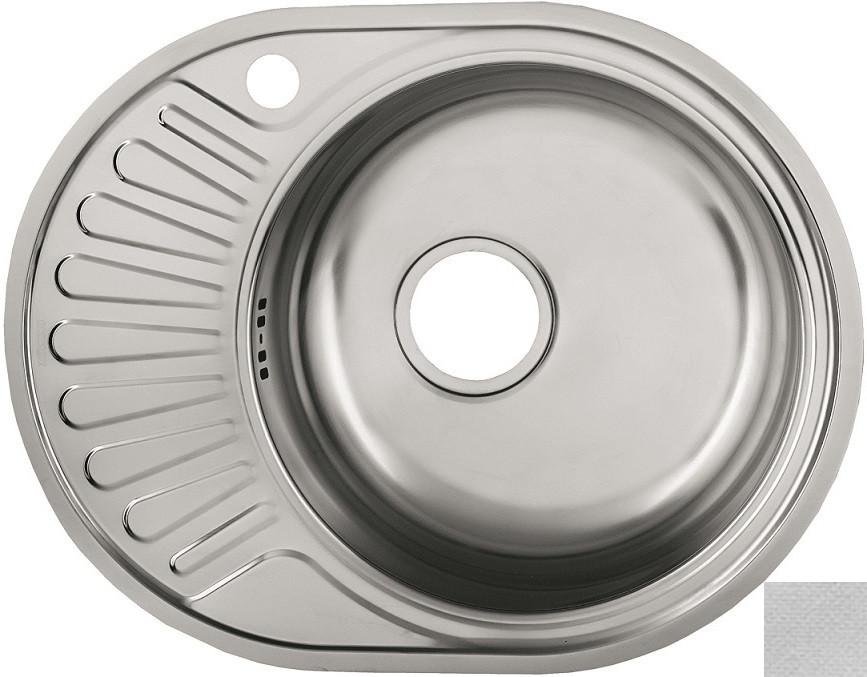 Кухонная мойка декоративная сталь Ukinox Фаворит FAL577.447 -GT6K 1R кухонная мойка декоративная сталь ukinox фаворит fal577 447 gt6k 2l