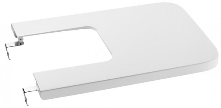 Крышка для биде с микролифтом Roca Inspira 80653200B крышка roca meridian биде лакированная с механизмом мягкого закрывания 8062a2004