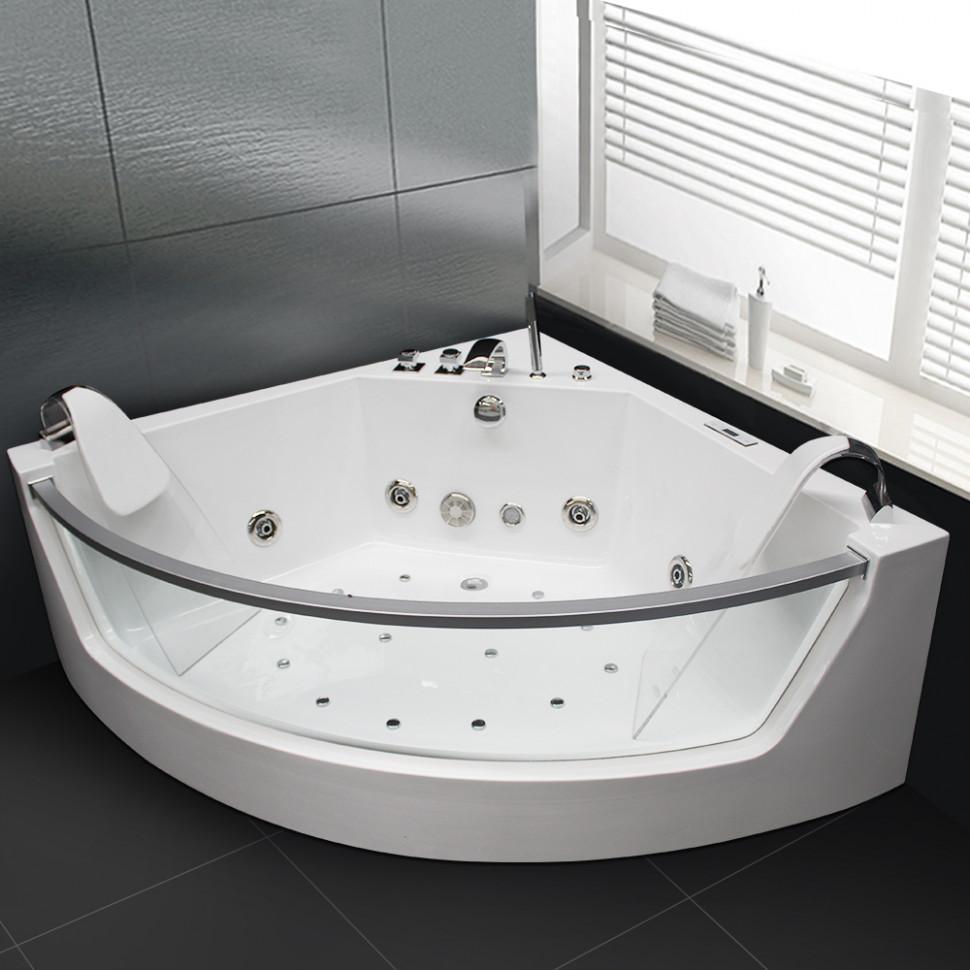 Акриловая гидромассажная ванна 141х141 см Grossman GR-14114