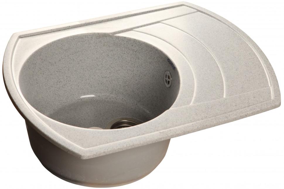 все цены на Кухонная мойка серый GranFest Rondo GF-R650L онлайн