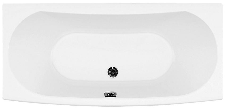 Акриловая ванна 157,8х74,1 см Aquanet Izabella 00205499 акриловая ванна aquanet delight 208600 170x78