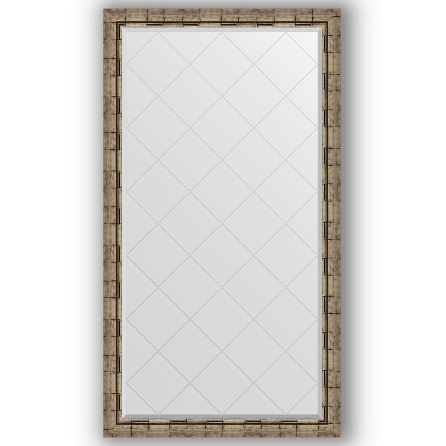 Зеркало 93х168 см серебряный бамбук Evoform Exclusive-G BY 4394