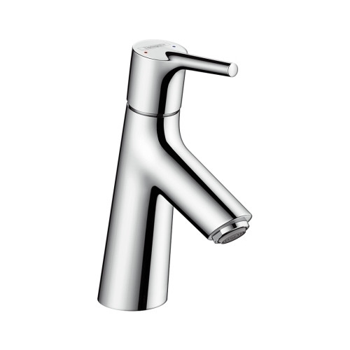 Смеситель для раковины 80 без донного клапана Hansgrohe Talis S 72012000 смеситель для раковины 110 без донного клапана hansgrohe talis e 71712000