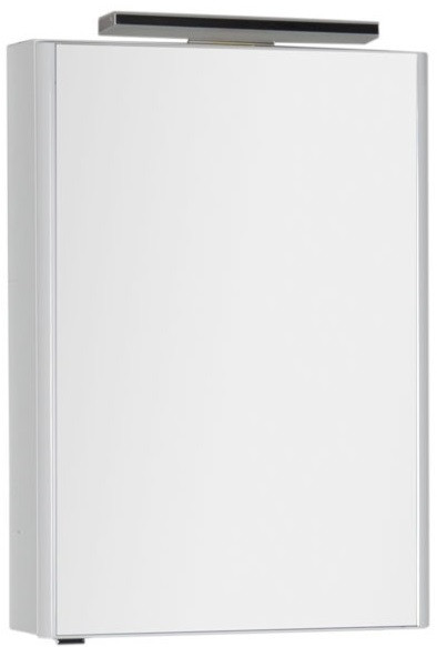 цена Зеркальный шкаф 60х85 см белый Aquanet Орлеан 00183076 в интернет-магазинах