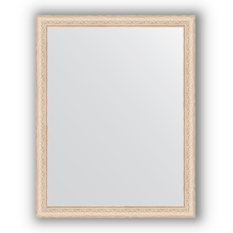 Фото - Зеркало 74х94 см беленый дуб Evoform Definite BY 1041 зеркало evoform definite 104х54 беленый дуб