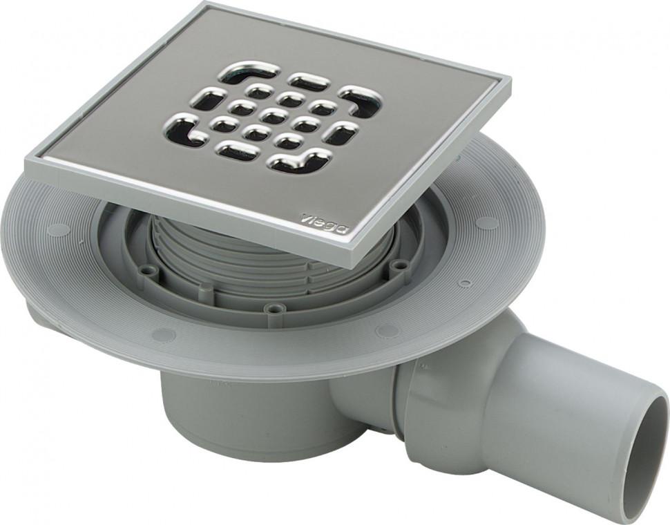Душевой трап 150x150/50 мм модель 4935.2 Viega Advantix 557140