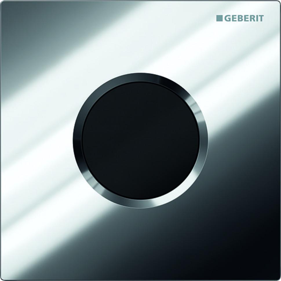Система электронного управления смывом писсуара, питание от сети, защитная крышка типа 01 Geberit глянцевый хром 116.021.21.5