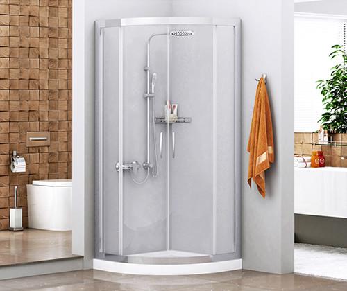 Душевой уголок 90х90 см прозрачное стекло WasserKRAFT ISEN 26S01 душевой уголок wasserkraft isen 26s01 без поддона