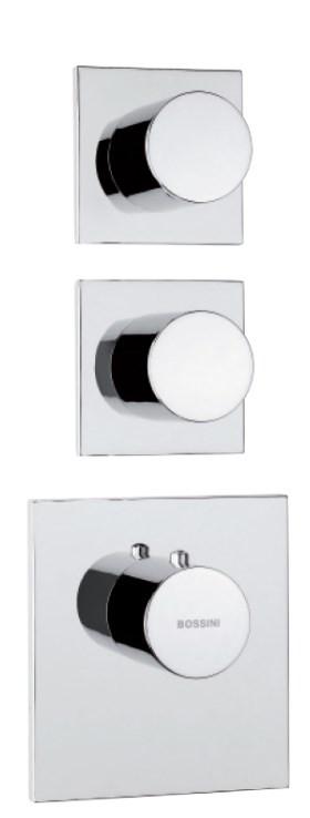 Наружняя часть термостата на 2 потребителя Bossini Outlets Z031203.030