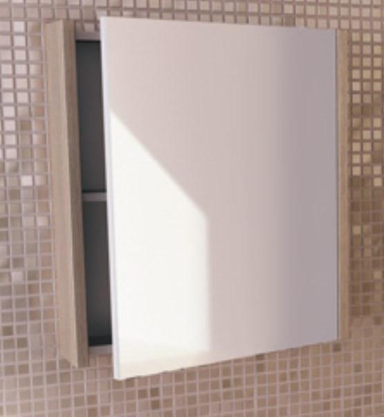 Зеркальный шкаф 60х67 см сосна лоредо Comforty Тулуза 00003121350 фото