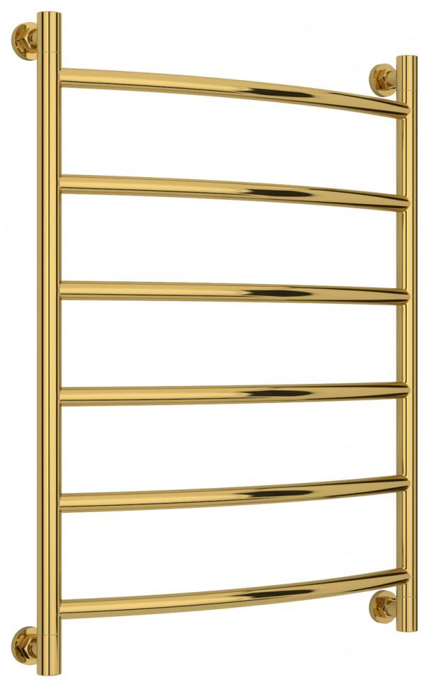 Полотенцесушитель водяной 800х600 золотой Сунержа Галант+ 03-0200-8060