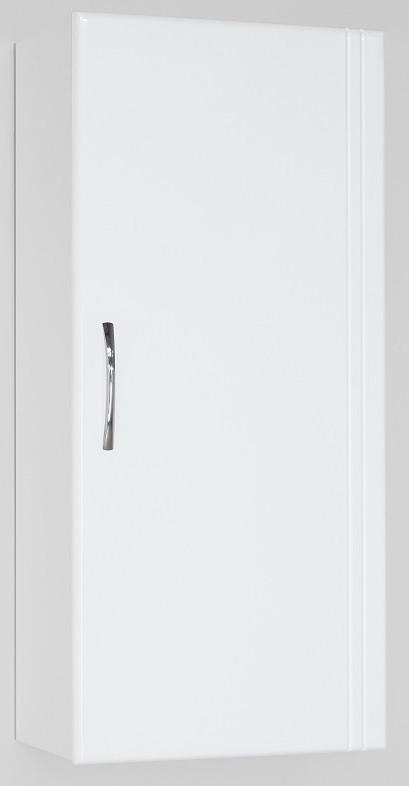 Шкаф одностворчатый подвесной 36х80 см белый глянец Style Line LC-00000197 фото
