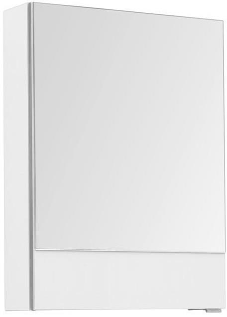Зеркальный шкаф 50х67 см белый L Aquanet Верона 00207763