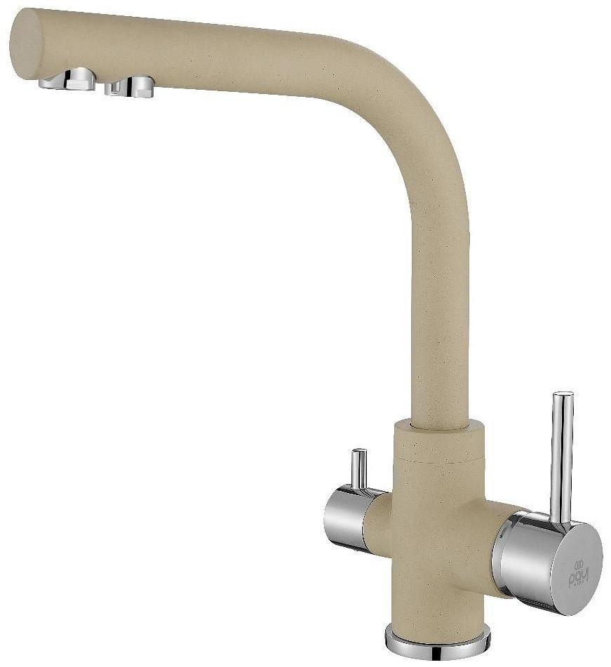 Смеситель для кухни с подключением к фильтру Paulmark Essen Es213011-428 смеситель для кухни с подключением к фильтру paulmark essen es213011 418