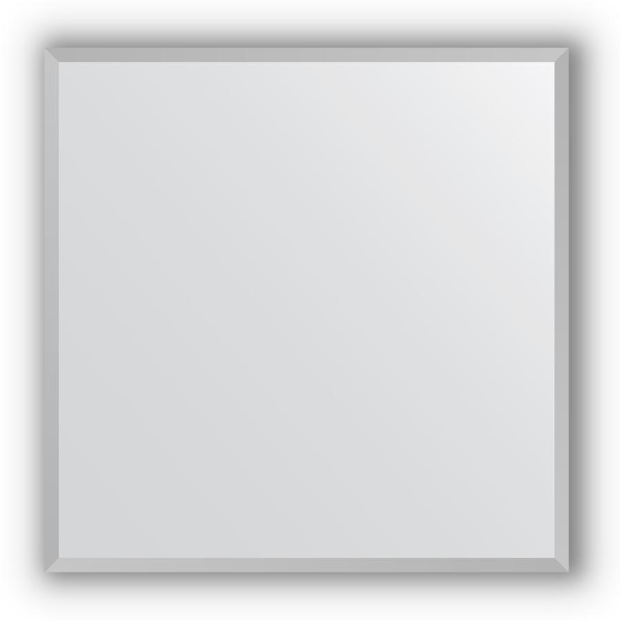 Зеркало 66х66 см хром Evoform Definite BY 3225 зеркало 66х66 см орех evoform definite by 0784