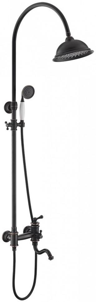 Душевая система Timo Adelia SX-6010/04 F black antique душевая система kaiser sx 2060 2 black