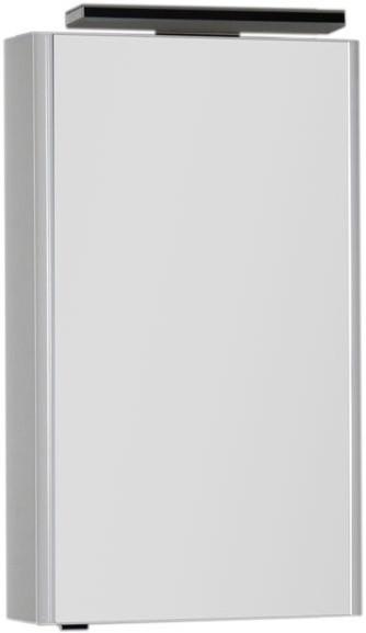 цена Зеркальный шкаф 50х85 см белый Aquanet Орлеан 00183075 в интернет-магазинах
