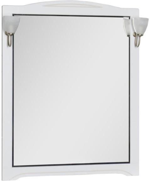 Зеркало 90х112 см белый Aquanet Луис 00173220