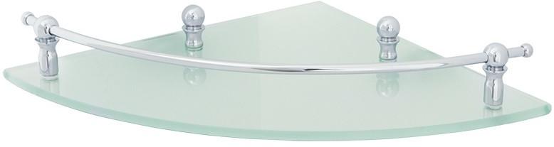 Полка угловая 25 х25 см Veragio Gialetta Cromo VR.GIL-6417.CR цена и фото