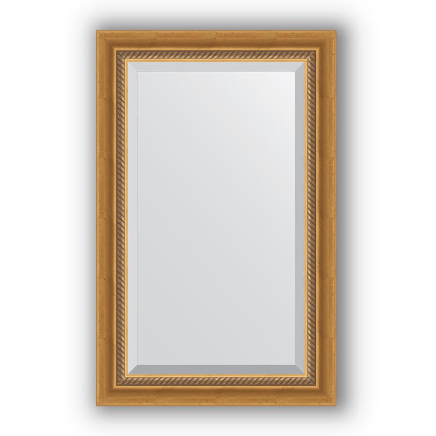 Зеркало 53х83 см состаренное золото с плетением Evoform Exclusive BY 3405